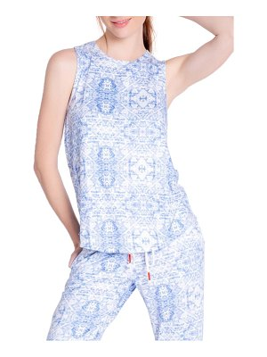 PJ Salvage boho print sleep tank