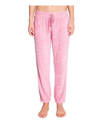 PJ Salvage crop terry lounge pants