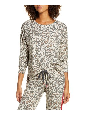 PJ Salvage wild heart animal print top