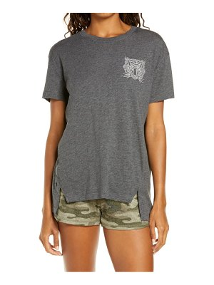 PJ Salvage wild one tiger embroidered t-shirt