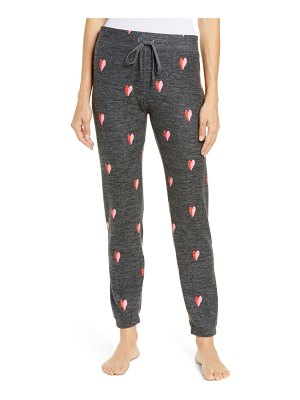 PJ Salvage with a kiss print joggers