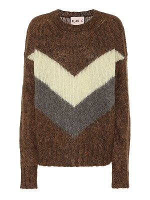 Plan C mohair and wool-blend sweater