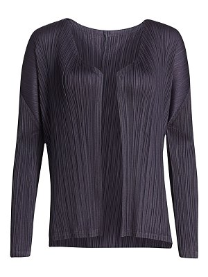 Pleats Please Issey Miyake monthly colors august jacket