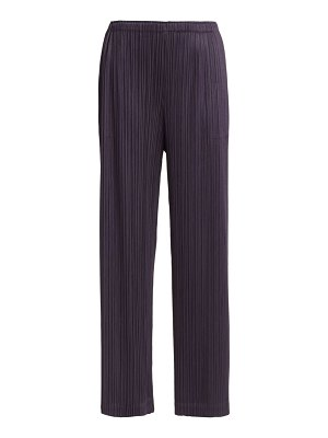 Pleats Please Issey Miyake monthly colors august wide-leg pants