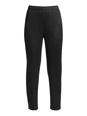 Pleats Please Issey Miyake monthly colors cropped pants