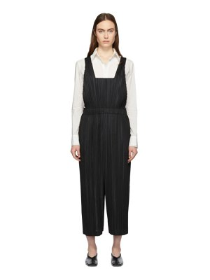 Pleats Please Issey Miyake Pleated Thicker Bottoms Jumpsuit