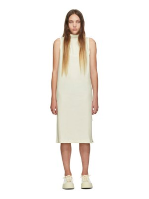 Pleats Please Issey Miyake ssense exclusive white jersey tank dress