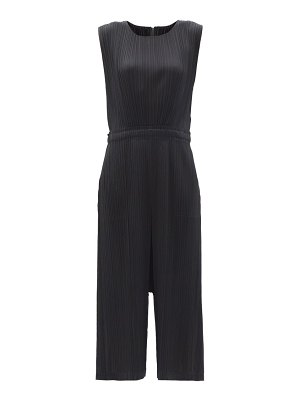 Pleats Please Issey Miyake technical-pleated cropped jumpsuit