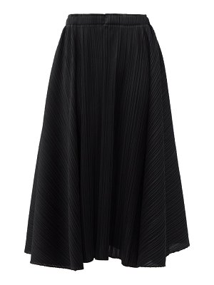 Pleats Please Issey Miyake technical-pleated midi skirt