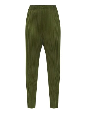 Pleats Please Issey Miyake technical-pleated trousers