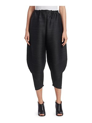 Pleats Please Issey Miyake thicker bounce tapered pants