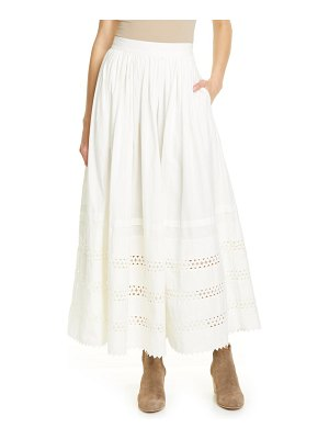 Polo Ralph Lauren cotton maxi skirt