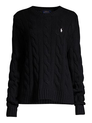 Polo Ralph Lauren exploded cable knit sweater