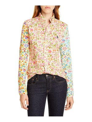 Polo Ralph Lauren mixed floral shirt