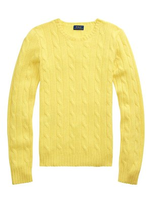 Polo Ralph Lauren julianna cashmere cable-knit sweater