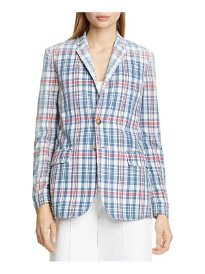 Polo Ralph Lauren madras plaid blazer