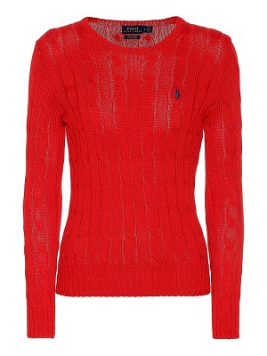 Polo Ralph Lauren pima cotton cable-knit sweater