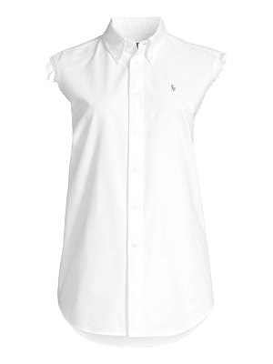 Polo Ralph Lauren sleeveless button-down shirt
