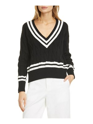 Polo Ralph Lauren v-neck cable sweater