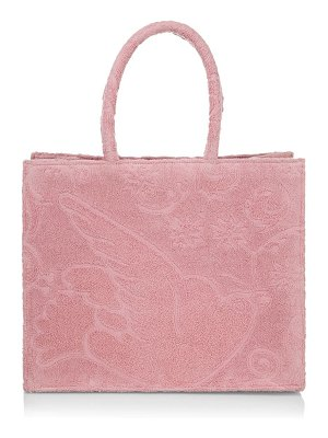 Poolside the sunbaker terry cloth tote