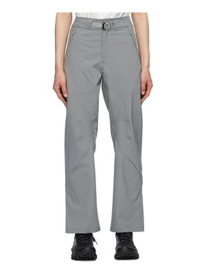 Post Archive Faction (PAF) grey 4.0 right technical trousers