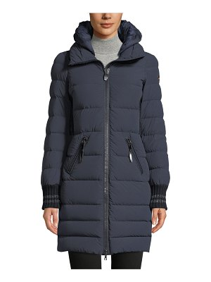 Post Card Skilbrum Fitted Long Puffer Coat