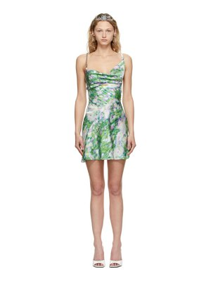 Poster Girl ssense exclusive multicolor floral mandy dress