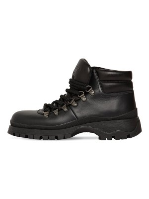 Prada 40mm brixen leather hiking boots