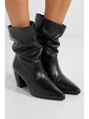 Prada 65 leather ankle boots