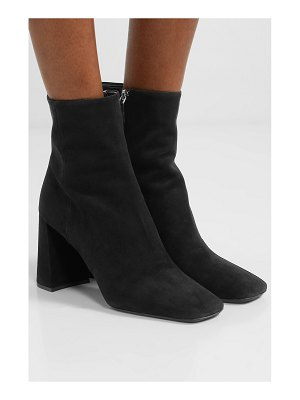 Prada 85 suede ankle boots