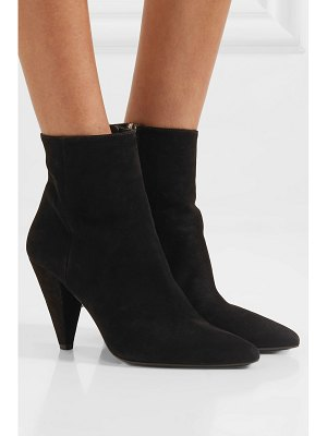 Prada 90 suede ankle boots