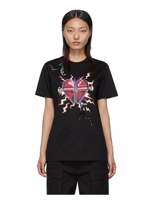 Prada black heart t-shirt