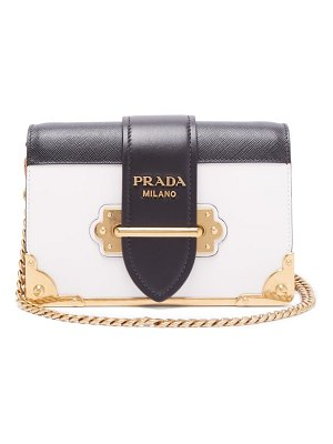 Prada cahier leather cross body bag