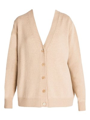 Prada cashmere oversized button front cardigan