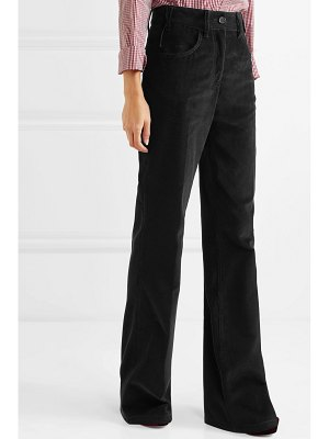 Prada cotton-corduroy wide-leg pants