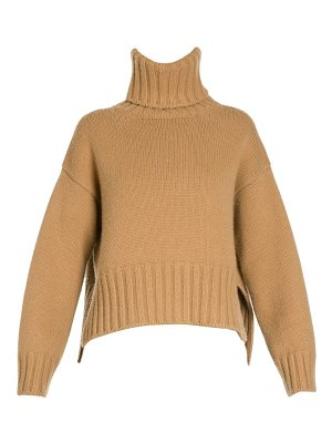 Prada cropped cashmere turtleneck sweater
