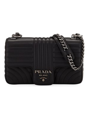 Prada Diagramme Medium Shoulder Bag