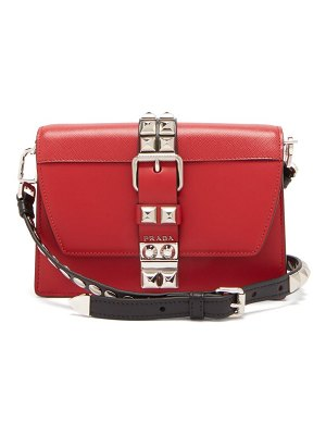 Prada elektra leather cross body bag