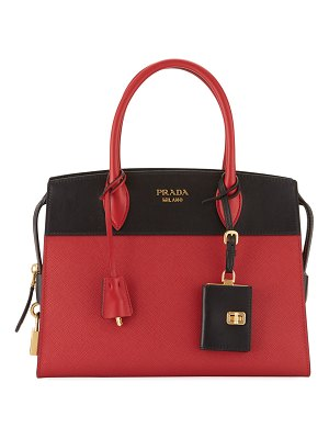 Prada Esplanade Medium Leather City Satchel Bag
