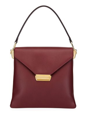 Prada Ingrid Smooth Leather Top-Handle Shoulder Bag