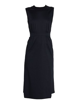 Prada layered hem pencil dress