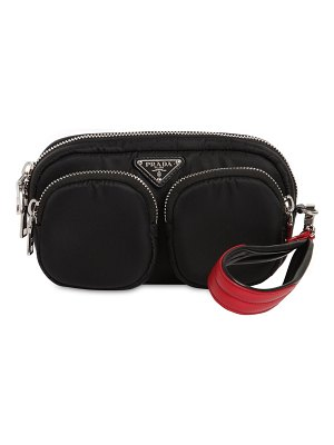 Prada Nylon poket clutch