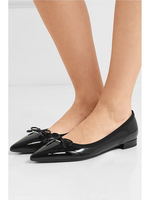 Prada patent-leather ballet flats