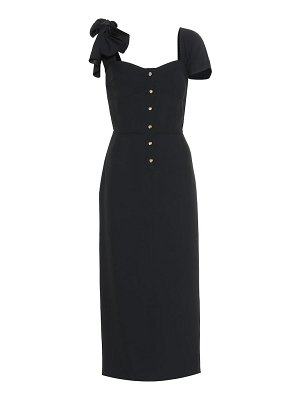 Prada sablé midi dress
