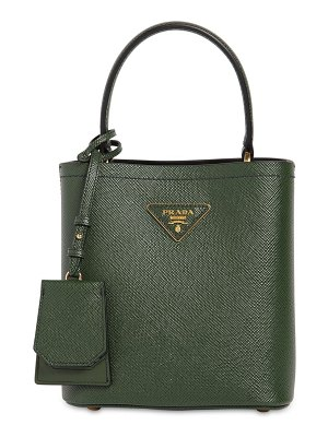Prada Saffiano double leather top handle bag
