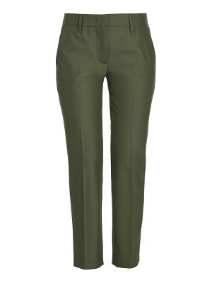 Prada stretch-techno cropped pants