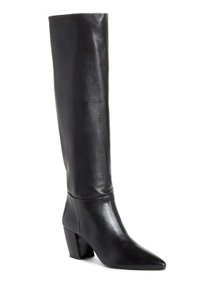 Prada tall pointy toe boot