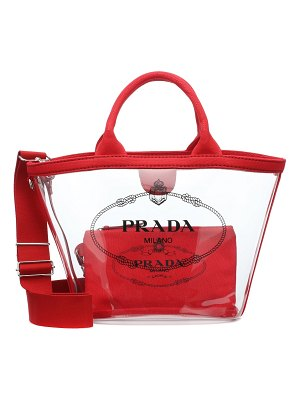 Prada Transparent shopper