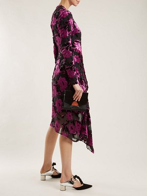 Preen by Thornton Bregazzi Alyssa floral-devoré midi dress