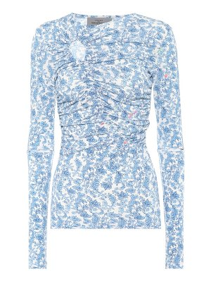 Preen by Thornton Bregazzi Floral-printed top